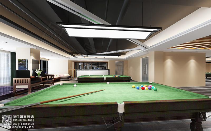 杭州台球厅装修