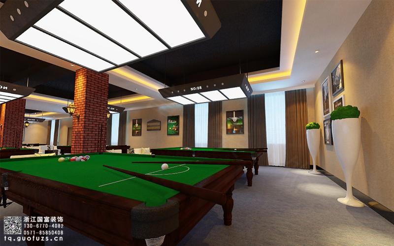 杭州台球室设计